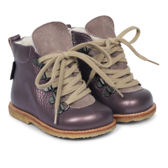 Lauflernschuh TEX-Stiefel mit Schnürung und Reißve