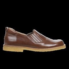 Schuh mit Gummieinsatz
