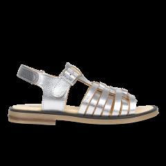 Sandale mit Schnalle und Klettverschluss