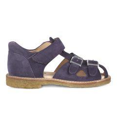 Sandale mit verstellbarem Klettverschluss und Schn