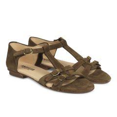 Sandale mit Riemchen-Design