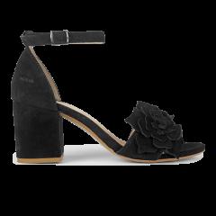 Blockabsatz-Sandale mit Schnalle