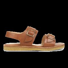 Sandale mit Schnalle und Plateausohle