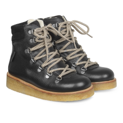 TEX-Stiefel mit Schnürung und Reißverschluss