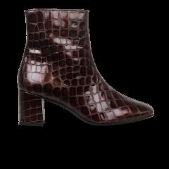 Blockabsatz-Stiefel und Reißverschluss