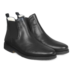 Chelsea Boot mit Wollfutter