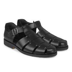 Klassische Sandale mit Schnalle